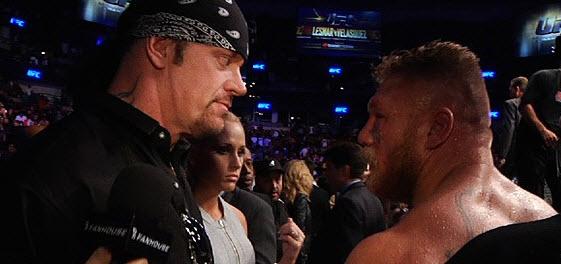 Taker Lesnar UFC