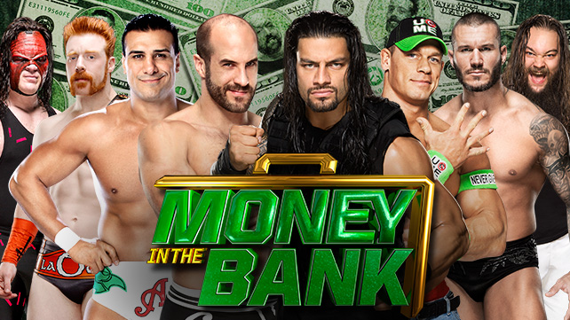 Who Will Win The WWE WHC Money In The Bank Ladder Match 2014