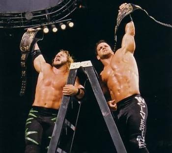 Benoit Jericho TLC
