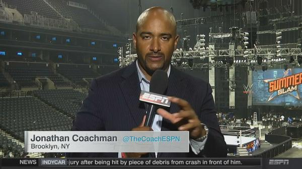 Coach ESPN Summerslam 15