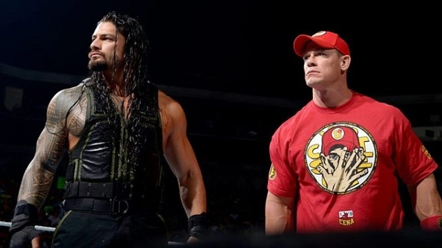 roman-reigns-and-john-cena-are-standing-in-the-ring-ready-for-action