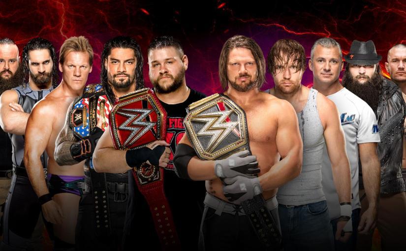 WWE Survivor Series 2016 PPV Spotlight: Men's 5-On-5 EliminationMatch