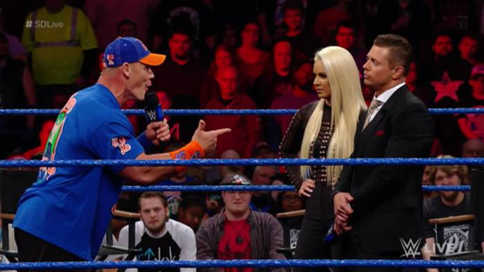 Promo time with Cena and Miz