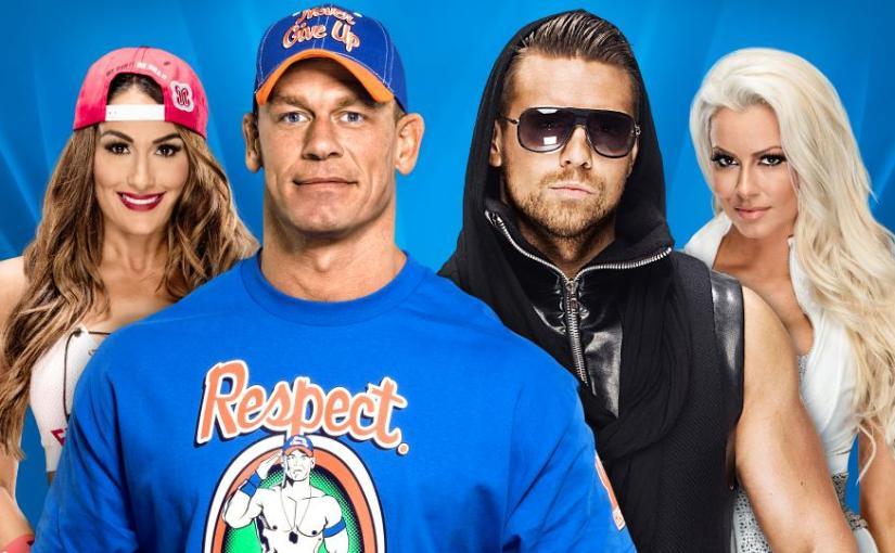 Wrestlemania 33 Spotlight: John Cena & Nikki Bella vs The Miz &Maryse