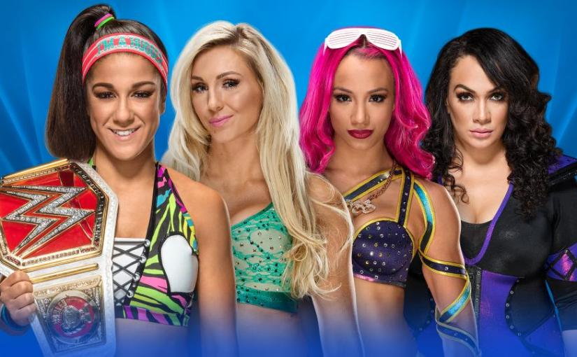 Wrestlemania 33 PPV Spotlight: Charlotte vs Nia Jax vs Sasha Banks vs Bayley