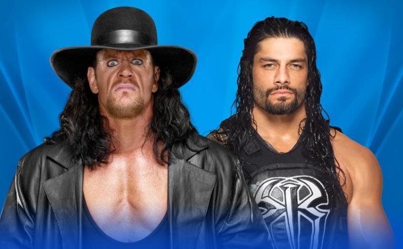Wrestlemania 33 Spotlight: Roman Reigns vs TheUndertaker