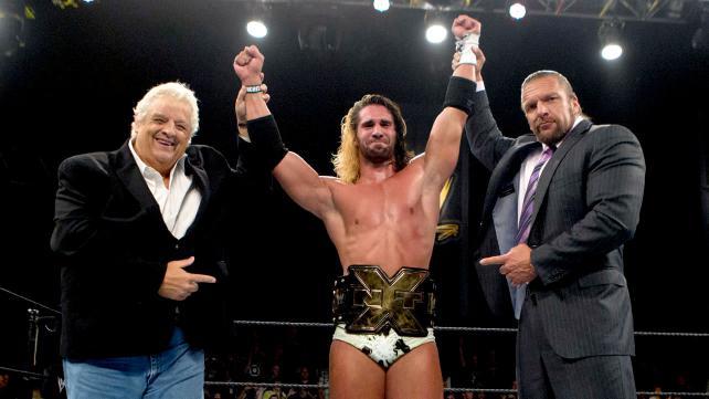 Seth NXT Champ