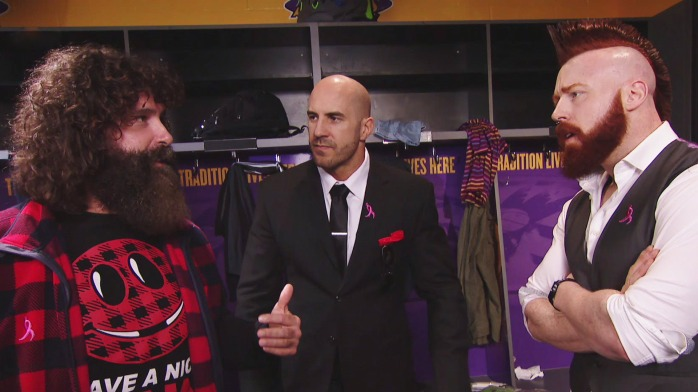 Foley Cesaro Sheamus