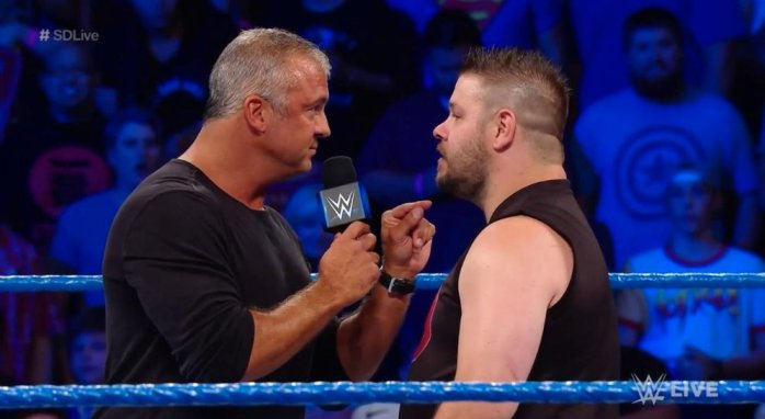 Shane McMahon Kevin Owens Cell