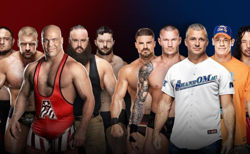 Survivor Series 2017 Spotlight: Men's Raw vs SmackDown EliminationMatch