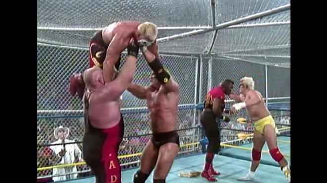 WarGames Sting cage