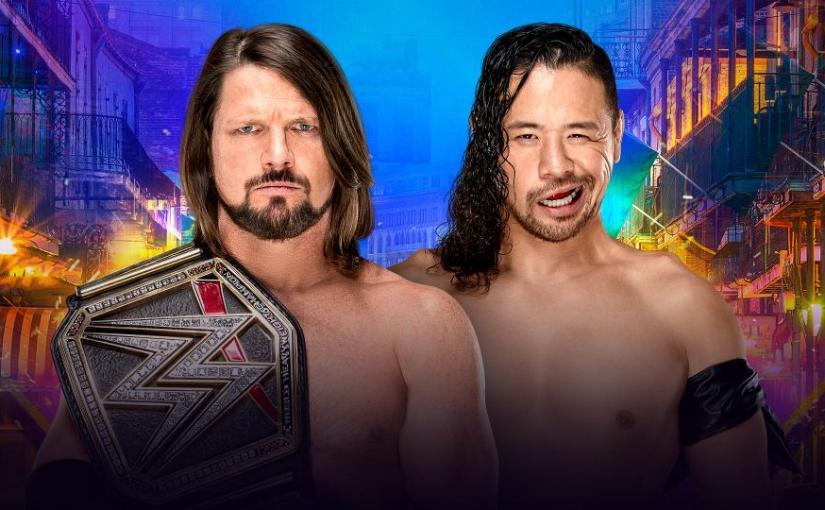 Wrestlemania 34 Spotlight: Shinsuke Nakamura vs AJStyles