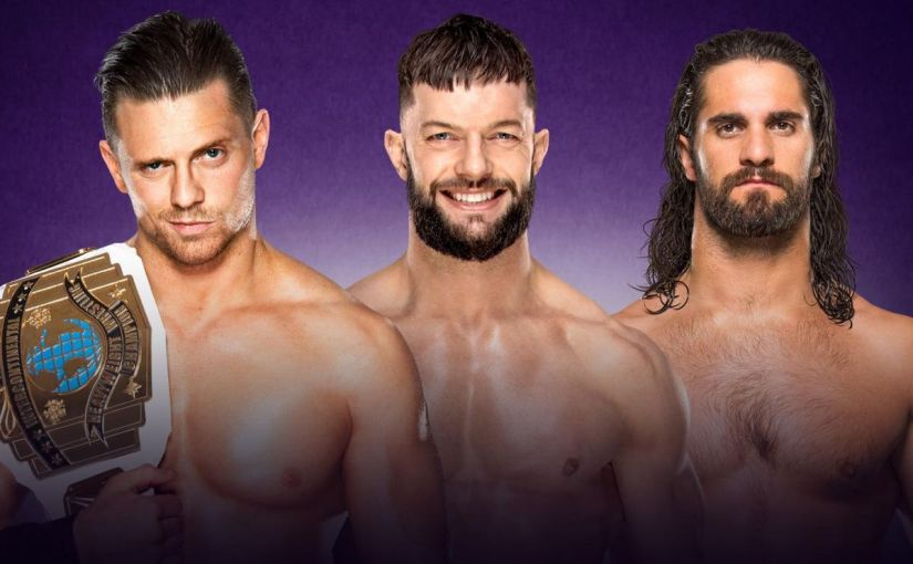 Wrestlemania 34 Spotlight: The Miz vs Finn Balor vs Seth Rollins