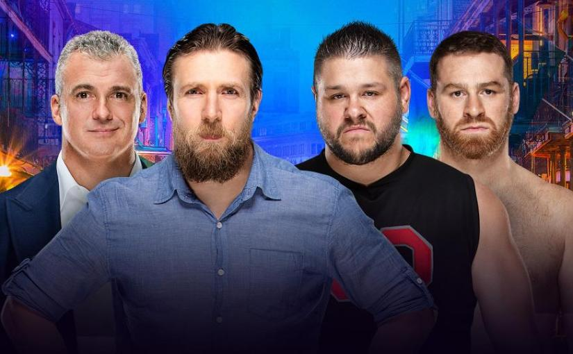 Wrestlemania 34 Spotlight: Kevin Owens & Sami Zayn vs Daniel Bryan & ShaneMcMahon