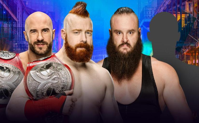 Wrestlemania 34 Spotlight: Cesaro & Sheamus vs Braun Strowman & ???