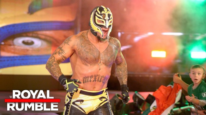 Rey Mysterio Royal Rumble