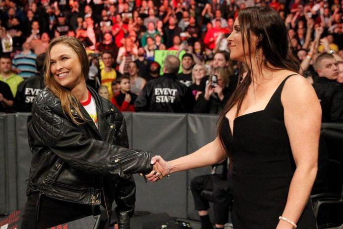 Ronda Rousey Stephanie McMahon