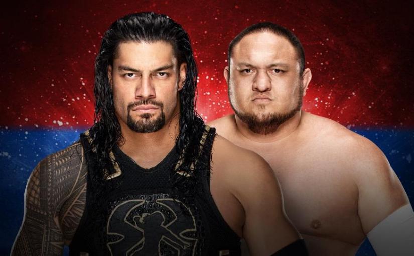 Backlash 2018 Spotlight: Roman Reigns vs SamoaJoe