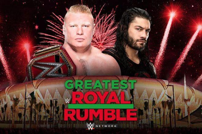 GRR Roman Reigns Brock Lesnar