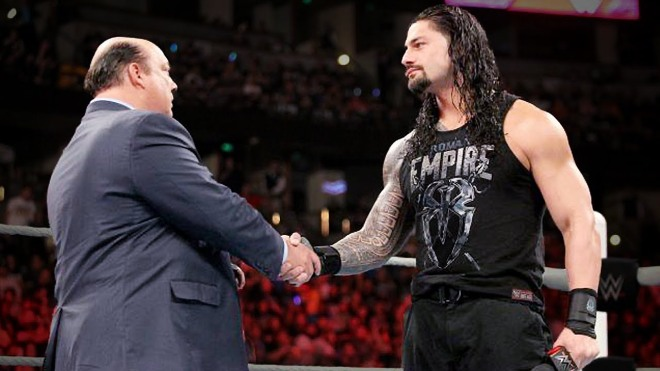 Roman Reigns Paul Heyman