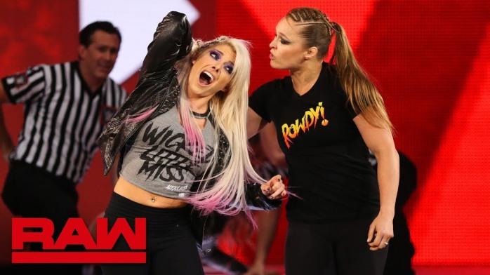 Alexa Bliss Ronda Rousey