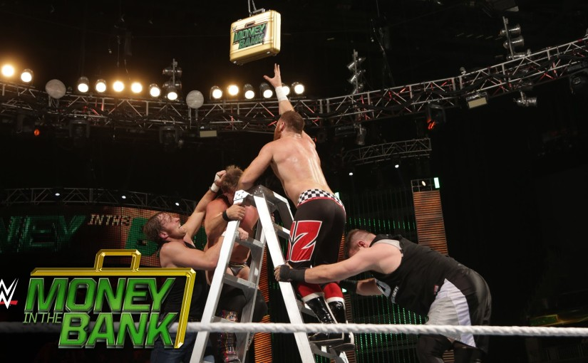 Fantasy Booking Series: The card for Money In The Bank takes shape