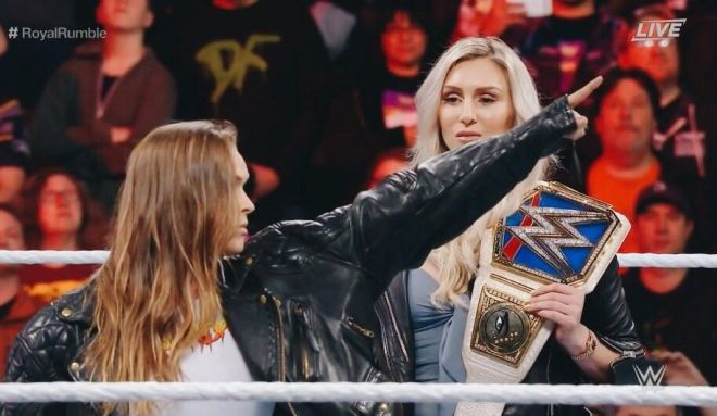 Charlotte Ronda Rousey