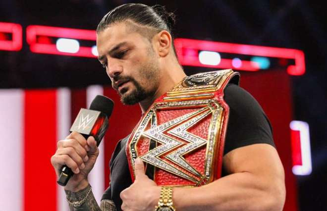 Roman Reigns announcement
